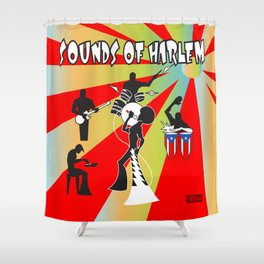 Sounds Of Harlem  Shower Curtain