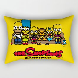TheSimpsons bape baby milo Rectangular Pillow