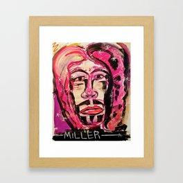 Disco Jesus Framed Art Print