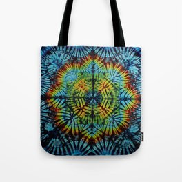 Exhale: A vibrant mix of colors of the rainbow Tote Bag