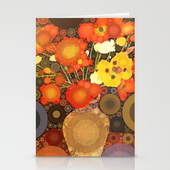 Gramma's Flowers Stationery Cards