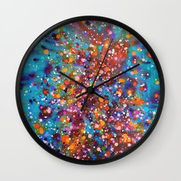 A Dance with Time and Space Wall Clock