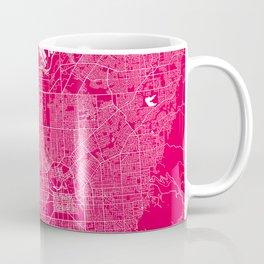 Adelaide map rapsberry Coffee Mug