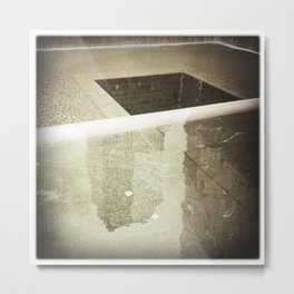 Ground Zero Metal Print
