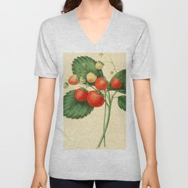 THE BOSTON PINE STRAWBERRY Unisex V-Neck