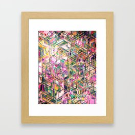 Geometric Pattern 00230123 Framed Art Print