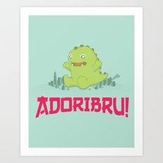 Adoribru! Art Print