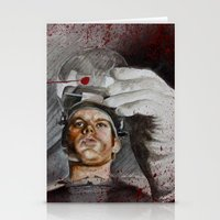 dexter Stationery Cards featuring Dexter by HevArtScenic