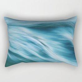 Ocean beneath you Rectangular Pillow