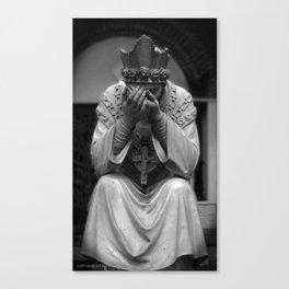 Mourn Your Faith Canvas Print