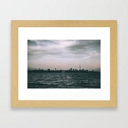 6ix Views Framed Art Print