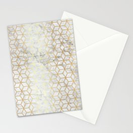Hive Mind - Marble Gold #510 Stationery Cards