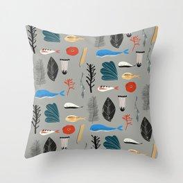 Maritime Throw Pillow
