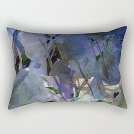 Moody Blooms Rectangular Pillow