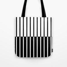 Zebra Plays Piano Tote Bag