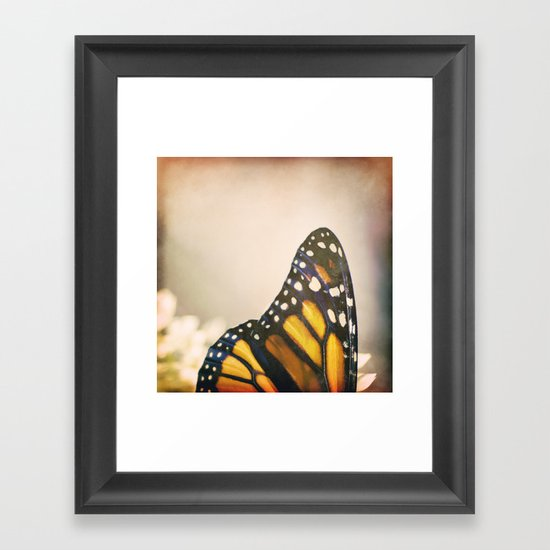 Fragile Patterns Framed Art Print