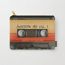 Awesome transparent mix cassette tape volume 1 iPhone 4 4s 5 5c 6, pillow case, mugs and tshirt Carry-All Pouch