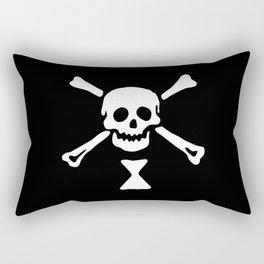 Emanuel Wynne Pirate Flag Jolly Roger Rectangular Pillow