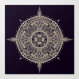 Mandala 1 (Dark) Canvas Print