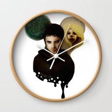 the Master & the BadWolf Wall Clock
