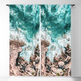 Aerial Ocean Print, Ocean Landscape, Beach Photography, Beach Print, Ocean Print, Ocean Water Blackout Curtain