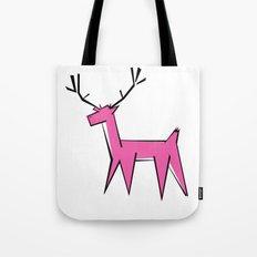 Pink deer  Tote Bag