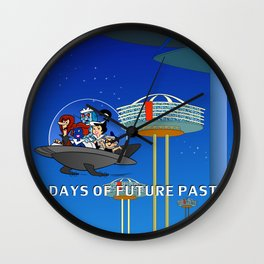 days of future past, jetsons Wall Clock