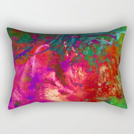Weeping Fireworks Rectangular Pillow
