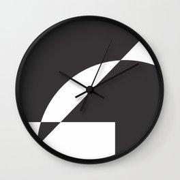 Geometrical Wall Clock