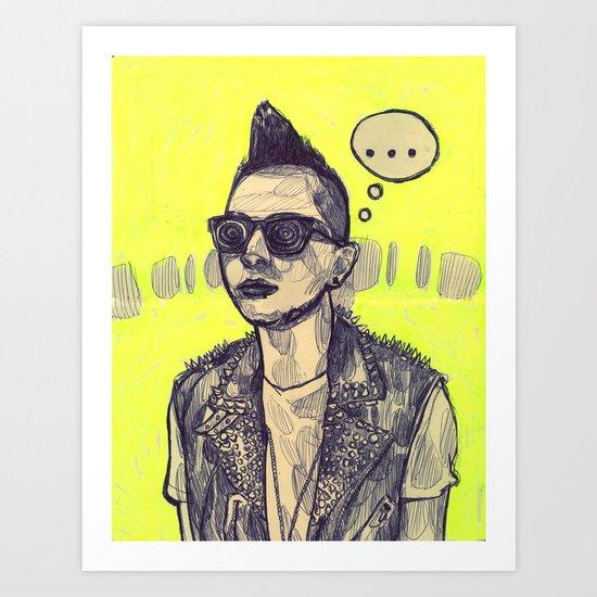 Taeyang Art Print