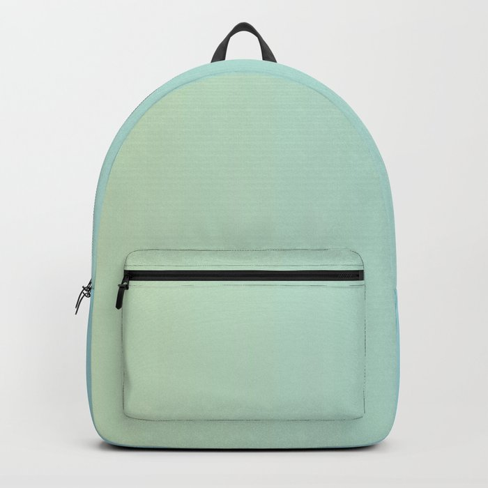 Turquoise Green Blue Gradient Backpack