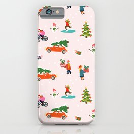 Christmas Winter time iPhone Case