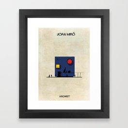 Joan Miró Framed Art Print