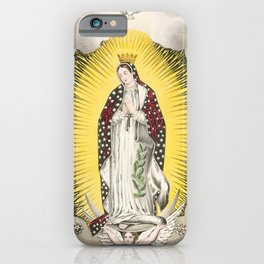 Our lady of Guadalupe, 1848 iPhone Case