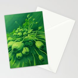 Poppy bunch Stationery Cards