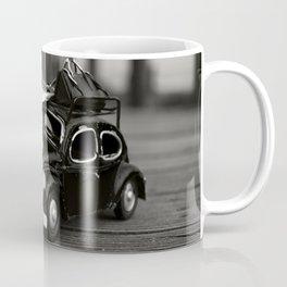 Little Cars, Big Planet (BW) Coffee Mug