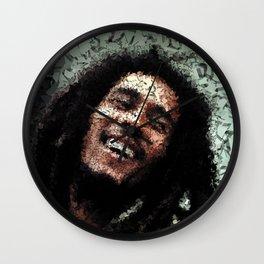 Homage to Marley Wall Clock