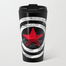 Winter Soldier Metal Travel Mug