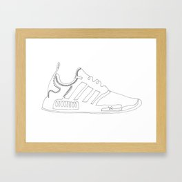 Sneakers Framed Art Print
