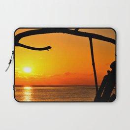 Sunrise The Maldives Laptop Sleeve