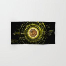 Bitcoin Blockchain Cryptocurrency Hand & Bath Towel