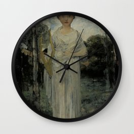 Jules Bastien-Lepage - Muse, Study Wall Clock