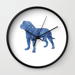 Bull Mastiff  Wall Clock