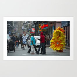 Nola Sunflower Art Print