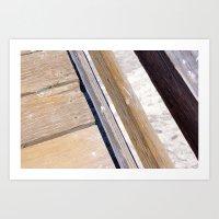 Boards of Wood Art Print