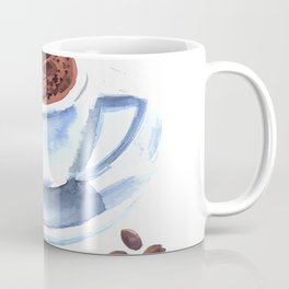 Americano Café Watercolor Coffee Mug