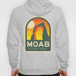 Moab Utah Patch Hoody