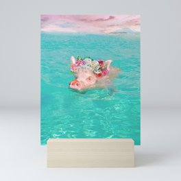 Whistle your soundtrack, daydream your future. Mini Art Print