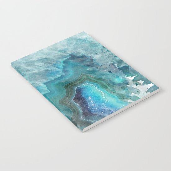 Blue Aqua Agate by castlefielddesign