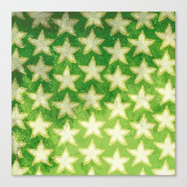 Star Fruit Paint pattern Canvas Print